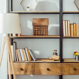 Etagères et meubles de rangement