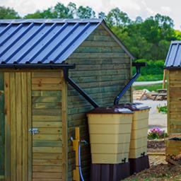 Récupérateurs d'eau de pluie et accessoires