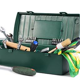 Coffrets et boîtes à outils garnies