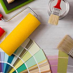 Outillage du peintre et de décoration