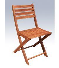 Chaise pliante en acacia