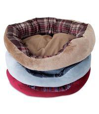 Couchage ovale pour chien et chat 50x38cm Lounger - ASPEN