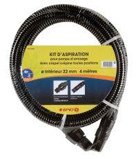 kit d'aspiration plastique 4m d22 - SPIDO