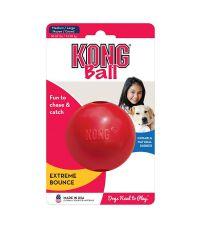 Jouet balle pour chien M / L rouge - KONG