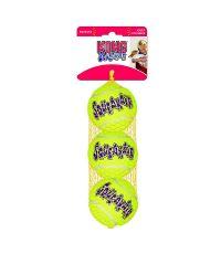 Balle de tennis couinante S x3 pour chien - KONG