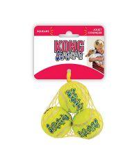 Balle de tennis couinante XS x3 pour chien - KONG