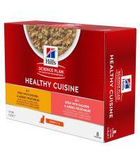Cuisine mijoté poulet/ saumon pour chat adulte 8x80g - HILL S PET NUTRITION