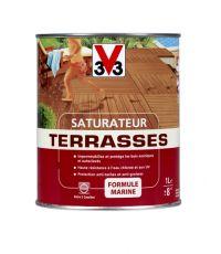Saturateur terrasses mat 1L - Teck - V33