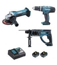 Lot de 3 outils 18V BL1840B
