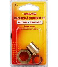 Raccords Butane/Propane Ø12