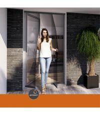 Moustiquaire rideau porte comfort 95x220 cm - WINDHAGER