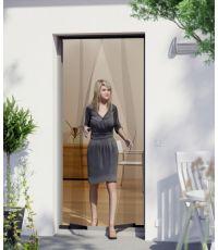 Moustiquaire porte rideau basic anthracite 100x220 cm - WINDHAGER
