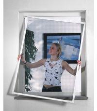 Moustiquaire kit fenetre blanc alu 140x150cm - WINDHAGER