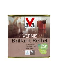 Vernis intérieur brillant reflet 0.5L - Chêne clair - V33