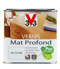 Vernis intérieur mat profond 0.5L - Incolore - V33
