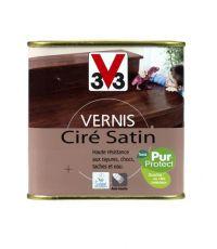 Vernis intérieur ciré satin 0.5L - Chêne clair - V33