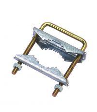 Collier d'arrêt cranté acier galvanisé - OPTEX