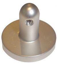 Support central pour câble fenêtre nickel mat - MOBOIS
