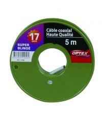 Câble coal blanc 17vatc 5 mètres - OPTEX