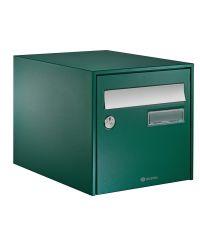 Boîte aux lettres B-box 2 portes normalisée vert - DECAYEUX