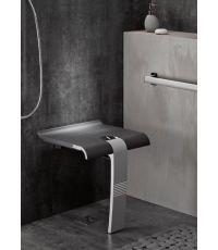 Siège de douche escamotable + tablette de douche design 15 - GODONNIER