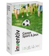 Semence Gazon Spécial Sport et Jeux 1kg - INVENTIV