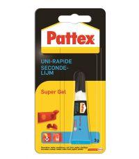 Colle Cyanoacrylate Uni-Rapide Gel 3gr - PATTEX