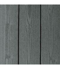 Lambris sapin brossé gris 205 x 13.5 x 1.2 cm - CARIB