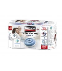 4 Recharges Absorbeur d'Humidité Aero 360° Pure - RUBSON