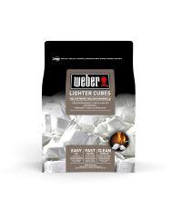 Cubes allume-feux blancs Weber - Boîte de 22 cubes - WEBER
