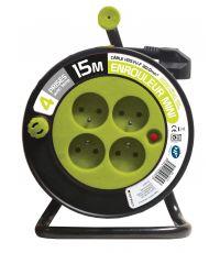Enrouleur menager anis HO5VV-F 3G1mm² - 15m - ZENITECH