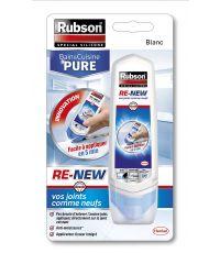 Mastic blanc Re-New Bain et Cuisine Pure- 100ml - RUBSON