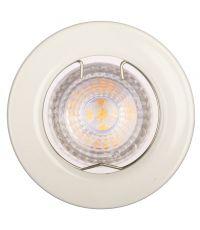 Spot (x1) à encastrer LED FIXE - 4,6W - blanc 2700K - INVENTIV