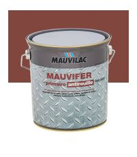 Laque antirouille Mauvifer S - rouge oxyde - 2.5 L - MAUVILAC