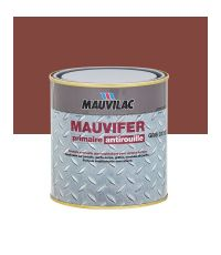 Laque antirouille Mauvifer S - rouge oxyde - 0.5 L - MAUVILAC