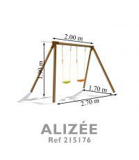 portique bois alizée - SOULET