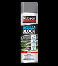 Revêtement d'étanchéité Aquablock Gris - Spray 300ml - RUBSON