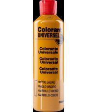 Colorant universel pour peinture coloris oxyde jaune 250 ml