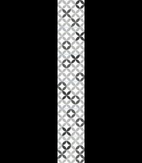 Déco carrelage adhésive céramique noir et blanc 15x15cm - PLAGE