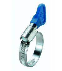 Collier de serrage à bande pleine avec clé de serrage intégrée Ø12 à 22 mm - SPID'O