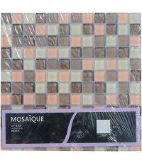 Mosaïque longani - 30 x 30 cm