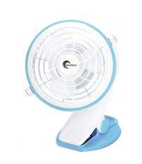 Ventilateur de table à clip 10cm 3 W - SKIRON