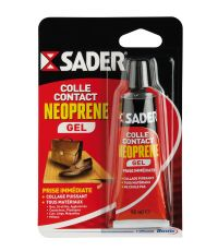 Colle contact néoprène gel 55ml - SADER