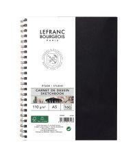 Carnet de dessin A5 spirales 80 pages - LEFRANC BOURGEOIS