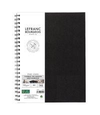 Carnet de dessin A4 spirales 80 pages - LEFRANC BOURGEOIS