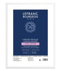 Carton entoilé 30 x 40 cm - LEFRANC BOURGEOIS