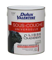 Sous-couche Universelle Valfond Glycero 2,5L Blanc - DULUX VALENTINE
