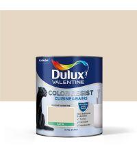 Peinture Cuisine & Bains Color Resist satin Cocon 0,75L - DULUX VALENTINE