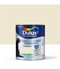Color Resist cuisine & bains ivoirine 0,75L - DULUX VALENTINE