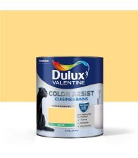 Color Resist Cuisine & Bains Jaune Frais 0,75L - DULUX VALENTINE